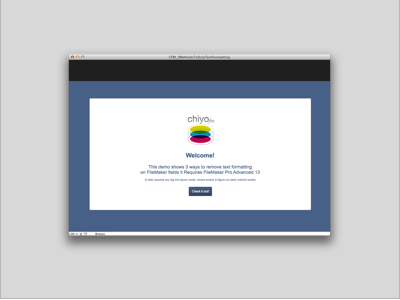 chiyofm, LLC | Consulting | Custom Software | FileMaker